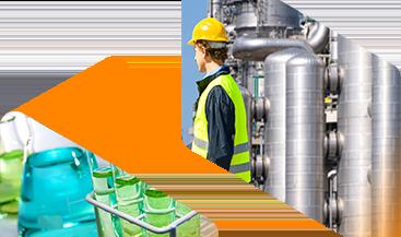 Imagen del banner de Fabricación de productos químicos industriales