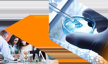 Imagen del banner de Servicios de laboratorio de soluciones químicas
