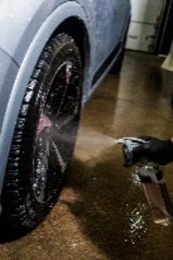 Lustrant pour pneus sans eau, avec silicone