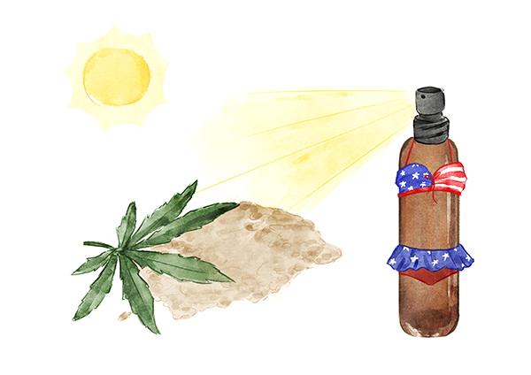 Hemp'fornian After-Sun Spray