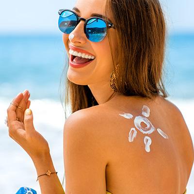 Crème solaire pour peaux sensibles FPS50*