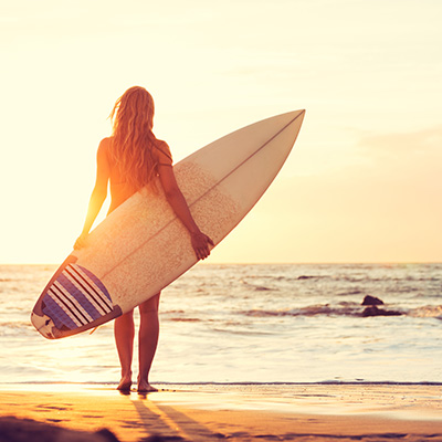 Lait corps Surf à Hawaï SPF30*