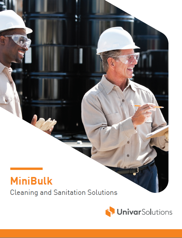 minibulk cleaning and sanitation